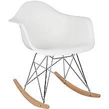 Premium Design Fauteuil A Bascule Siege En Plastique Chaise Pieds