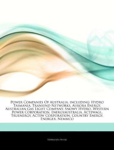 articles-on-power-companies-of-australia-including-hydro-tasmania-transend-networks-aurora-energy-au