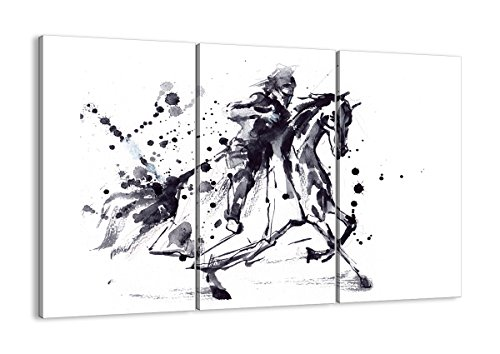 Zeitraum Kostüm Renaissance - Bild auf Leinwand - Leinwandbilder - DREI Teile - Breite: 165cm, Höhe: 110cm - Bildnummer 2985 - dreiteilig - mehrteilig - zum Aufhängen bereit - Bilder - Kunstdruck - CE165x110-2985