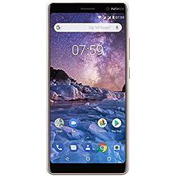 Nokia 7 Plus Smartphone Débloqué LTE (Ecran : 6 pouces - 64Go ROM - 4Go RAM - Dual-Nano SIM) Blanc [Version Française]