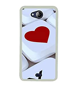 ifasho Designer Back Case Cover for Micromax Canvas Play Q355 (Love Love Diary Love It Chocolate Love Mobile)