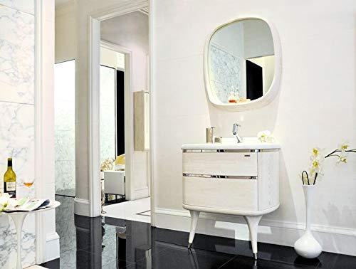 Designwaschtisch Luxus Waschtisch Marmor Badmöbel Spiegel Bad Neu