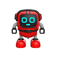 Cebbay Cute and Fun Detachable JJR / C R7 Rotary Remote Control Mini Robot,Clockwork Robot,Suitable for Over 14 Years Old