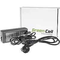 Green Cell® Cargador Notebook CA Adaptador para Toshiba Satellite A110-180 Ordenador (Salida: 19V 3.42A 65W, Dimensiones de la clavija: 5.5-2.5mm) Laptop Cable de Alimentación para PC Portátil