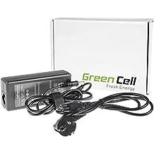 Green Cell® Cargador Notebook CA Adaptador para Toshiba Satellite A100-CR2 Ordenador (Salida: 19V 3.42A 65W, Dimensiones de la clavija: 5.5-2.5mm) Laptop Cable de Alimentación para PC Portátil