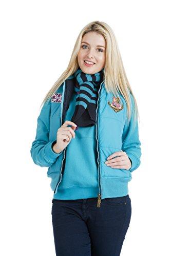Puffa women's gilet de buckingham Bleu Blau - Blue Breeze 36 Bleu - Blue Breeze