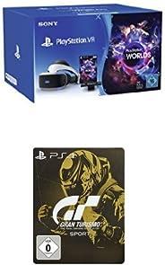 PlayStation VR + Camera + VR Worlds Voucher + Gran Turismo Sport - Steelbook Edition
