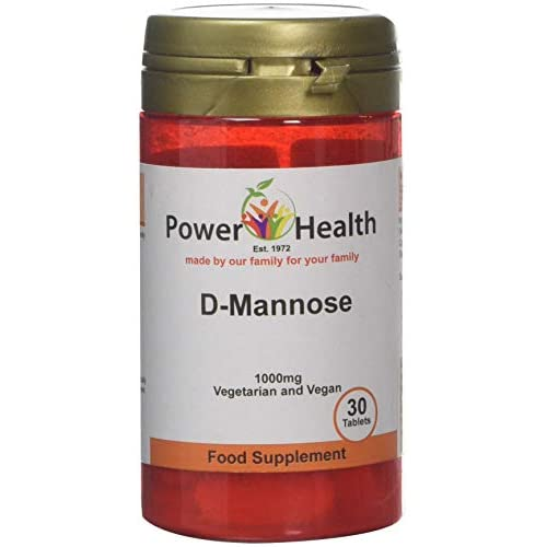 41dig2JfzXL. SS500  - Power Health 1000mg D-Mannose - Pack of 30 Tablets