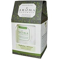 Aroma Naturals - Pachouli & Frankincense naturalmente mescolati della Eco-Candela della colonna di meditazione