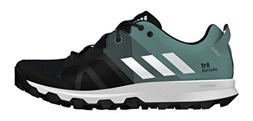 adidas Kanadia 8 Tr W, Chaussures de Running Entrainement Mixte Adulte Noir (Core Black/ftwr White/vapour Steel)