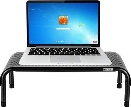 Unterhaltung Einheiten-möbel (Allsop Art ergo3-Halterung für Multimedia-Ausrüstung (schwarz, grau))