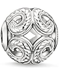Thomas Sabo Women Men-Bead Wave Karma Beads 925 Sterling Silver K0017-001-12