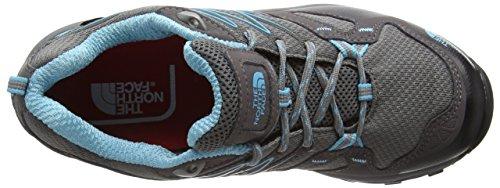 The North Face Hedgehog Fastpack Gtx (Eu), Chaussures de Randonnée Basses Femme Gris (Dark Gull Grey/Fortuna Blue Rd6)