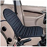 Relaxdays Chauffage de Siège, confort avec dosseret–Comfort Siège Chauffant 12V