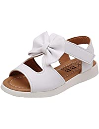JIA Sommer Frauen Plattform Sandalen vielseitige flache Schuhe,Rot-Weiss,34