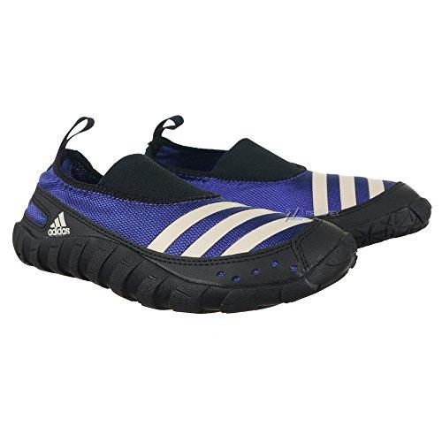 Adidas JAWPAW Badeschuh V24446, 35,blau,blau