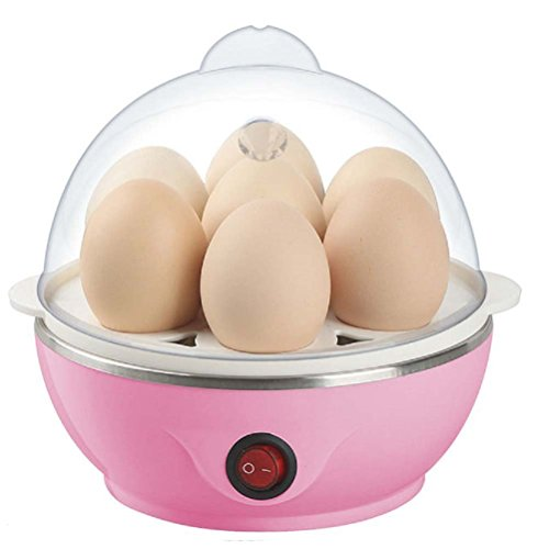 Electric Egg Boiler Poacher - Compact, Stylish 7 Egg Cooker  available at amazon for Rs.330