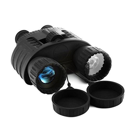 Nachtsichtgerät,Bestguarder Nachtsichtgerät Binokular Digital Night Vision Binocular, 5mp Foto & 720p Video Nachtsicht-Fernglas Schwarz