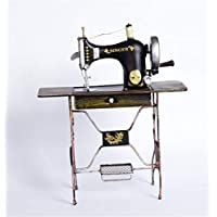 YoJu Sala De Estar Decoración Decoración del Hogar Decoración De Exterior Manualidades Antigua Máquina De Coser