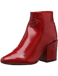 f1ce3fc8ff8 Lost Ink Women s Micha Block Heel Ankle Boot (Wide ...