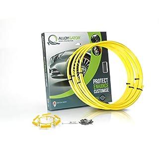 AlloyGator Felgenschutzringe Set = 4 ringe (Gelb)