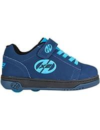 Heelys–Zapatillas con ruedas dobles, color color azul marina