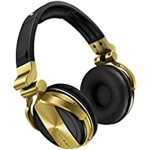 Gorro Pioneer hdj-1500-n DJ dorado/negras (Gold/Black)