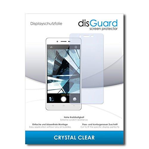 disGuard® Bildschirmschutzfolie [Crystal Clear] kompatibel mit Oppo Mirror 5 [4 Stück] Kristallklar, Transparent, Unsichtbar, Extrem Kratzfest, Anti-Fingerabdruck - Panzerglas Folie, Schutzfolie