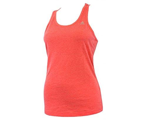 Adidas–Canotta Abbigliamento Aeroknit Climacool da donna rosa