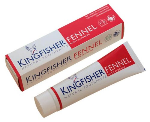Kingfisher Fennel & Fluoride Toothpaste 100ml * 12