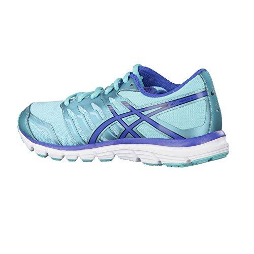 Asics Gel-zaraca 4, Chaussures de Running Entrainement Femme Turquoise/Slate Blue/Black