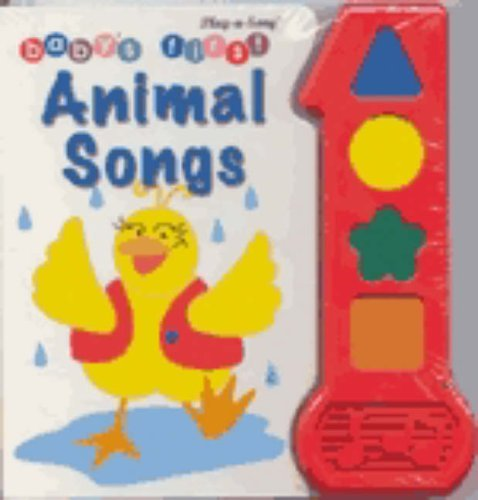 Baby's First Animal Songs (Babys First Song Book) by Peter Haddock (1997-08-01)