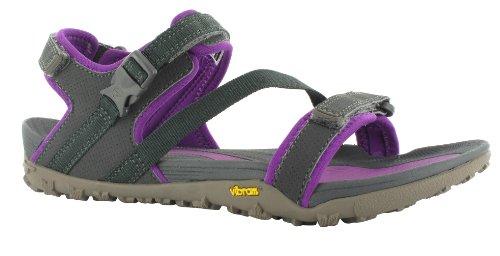 Hi-Tec - Aurora WoS, sandali da donna Grigio (Grau (051 CHARCOAL/PURPLE))