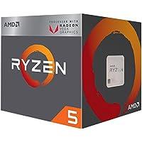 AMD Ryzen 5 2400G Retail Wraith Stealth - (AM4/Quad Core/3.60GHz/2MB/65W/Radeon Vega) - YD2400C5FBBOX
