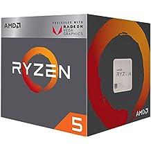 AMD Ryzen 5 2400G 3.6GHz 2MB L2 Box processor - Processors (AMD Ryzen 5, 3.6 GHz, Socket AM4, PC, 14 nm, 2400G)