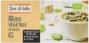 Fior di Loto Brodo Vegetale in Dado Bio - 100 gr