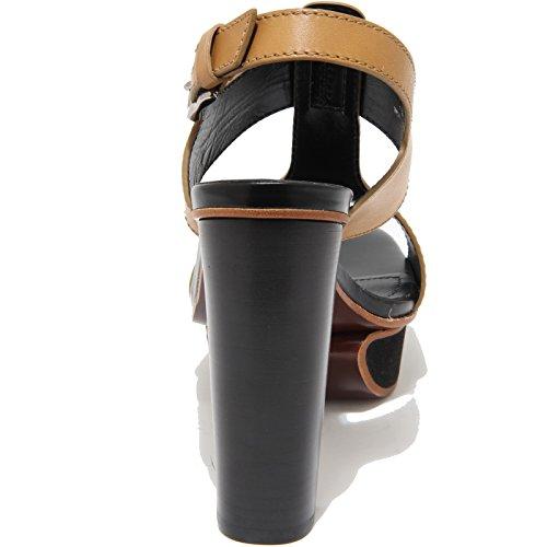 55457 sandalo TOD'S PLATEAU FASCE scarpa donna shoes women Beige