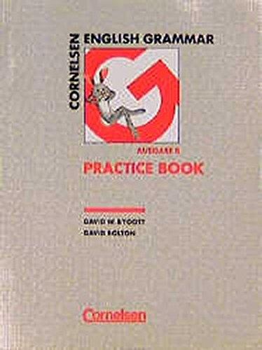 Cornelsen English Grammar, Ausgabe B, Practice Book
