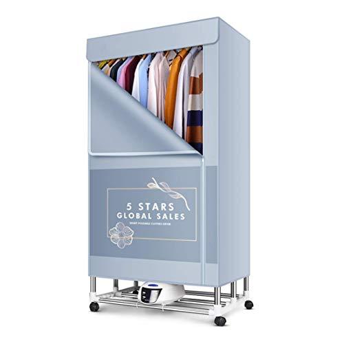 Clothes Dryer Hogar de Ropa eléctrica Plegable Secadores hogar cálido Viento de Secado Armario portátil de lavandería Estante de la Ropa de esterilización Secadora