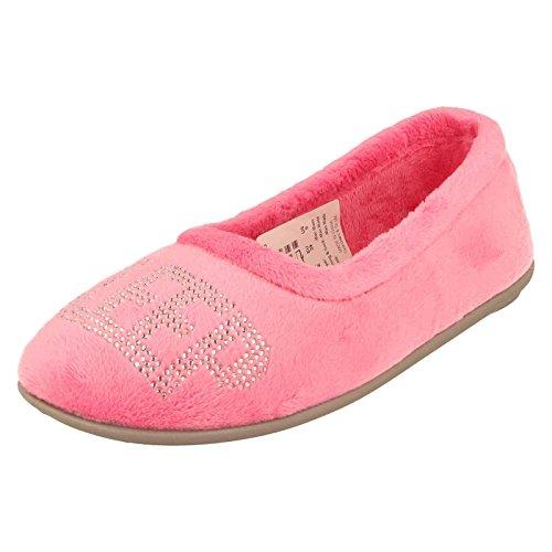 Lotus - Sandali con Zeppa donna , multicolore (Pink), 39