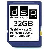 DSP Memory Z-4051557392410 32GB Speicherkarte für Panasonic Lumix DMC-TZ36EG-K