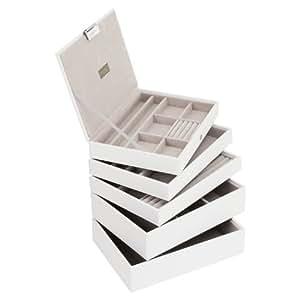 Stackers White Classic Jewellery Box - Set of 5