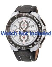 Correa de reloj Seiko/7t62 0hg0 SNAB13P1 (no un reloj incluido. Correa de reloj original solamente)