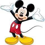 Clapper Mickey Mouse Stickers décoratifs Mickey Mouse Mural Chambre Salon Garderie...