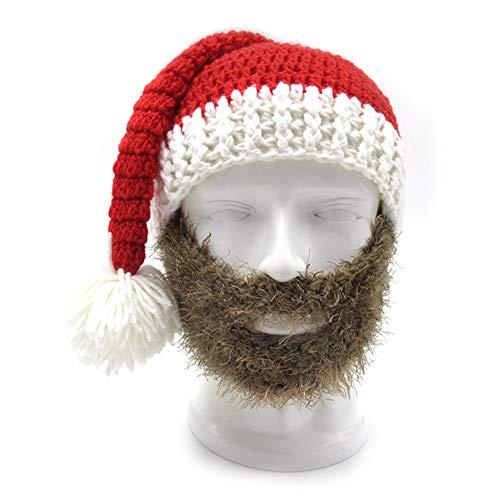 Im Freien Skireithut des lustigen Weihnachtshutes im Freien mit der winddichten Mütze der Maske Warm Weihnachtsmütze Nikolausmütze