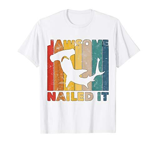 Jawsome Hemd Für Kleinkinder Lustiges Hammerkopf Hai Kostüm T-Shirt (Hai Kostüm Für Kleinkind)
