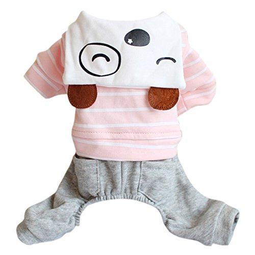 idung Hündchen Stricken Hundehose Sweatshirt Karton bedrucktes Hemd (Karton Haus Kostüm)