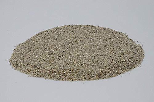 Doubleyou Geovlies & Baustoffe 30 kg Aquariumkies - Made in Germany - Quarzsand - abgerundete Körnung 3,0-6,0 mm