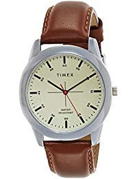 Timex Analog Beige Dial Men's Watch-TW00ZR261E