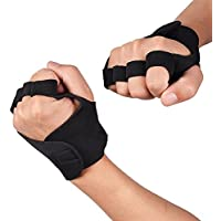 Outdoor Sports Schlitz Finger 3 Finger Cut Handschuhe Anti Rutsch